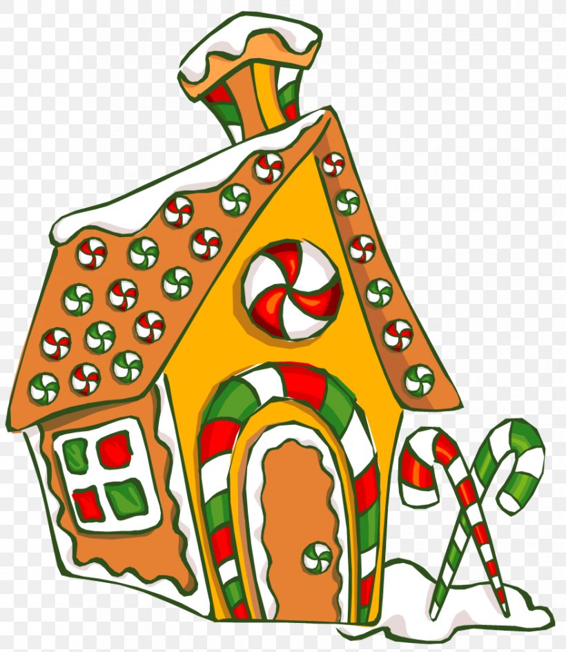 Gingerbread House Clip Art Christmas Gingerbread Man, PNG.