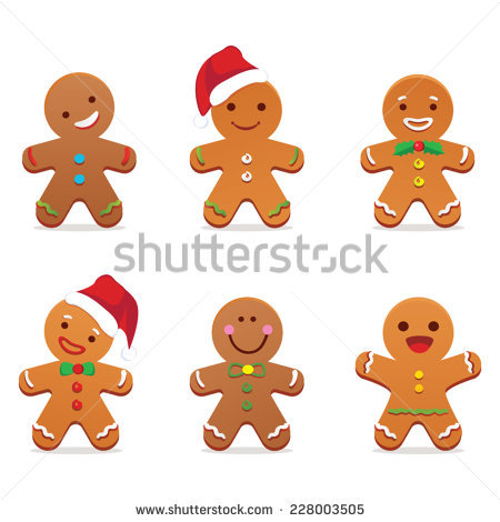 Cute Gingerbread Man Clipart Free Collection Cheap Ideal 11.