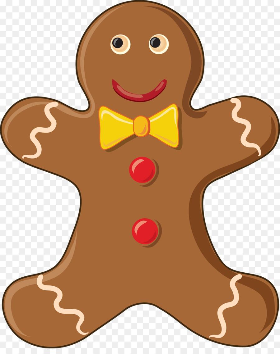 Christmas Gingerbread Man clipart.