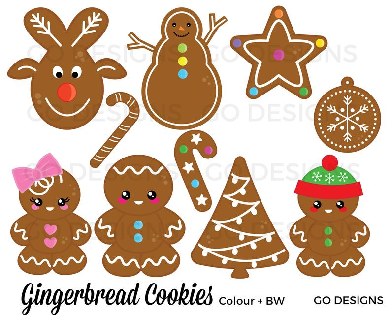 Gingerbread Cookies Clipart.