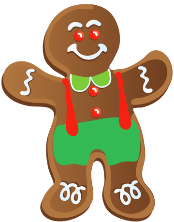 Gingerbread Man Clipart & Gingerbread Man Clip Art Images.