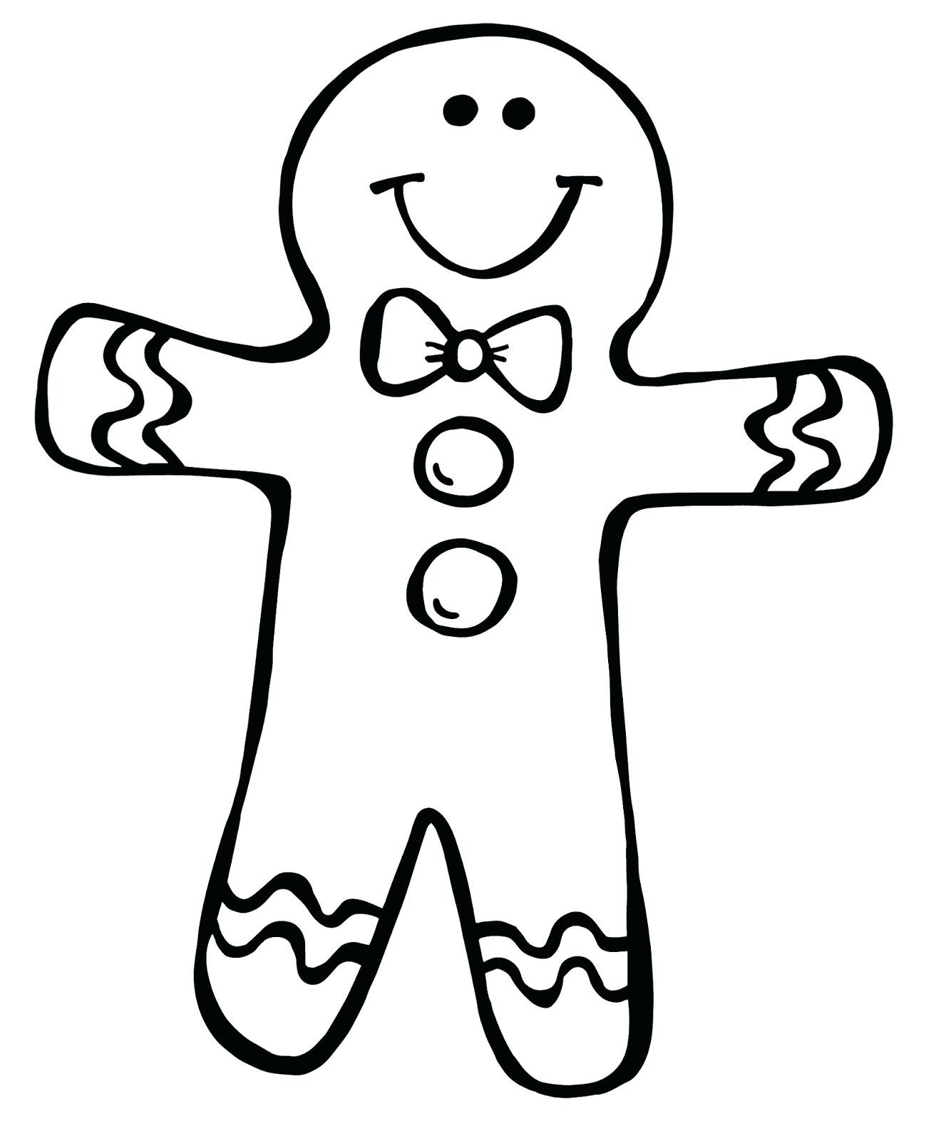 Collection of Gingerbread man clipart.
