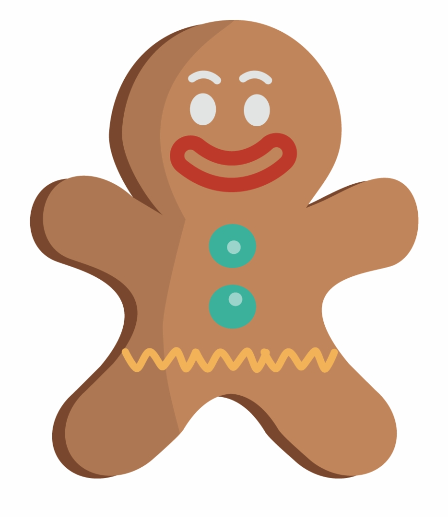 Free Gingerbread Man The Hd Photo Clipart.