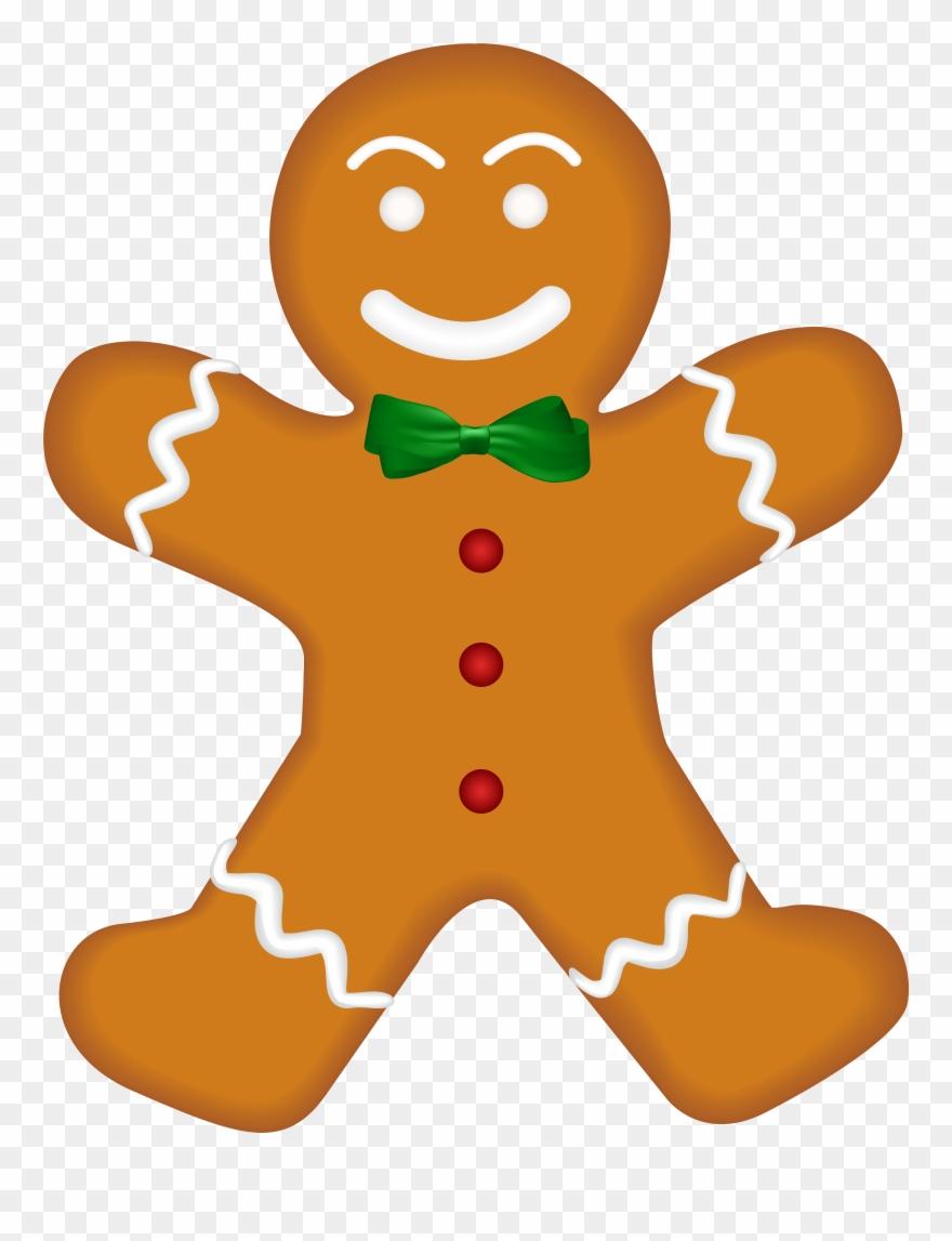 Christmas Gingerbread Png Clip Art Image Transparent Png (#3999589.
