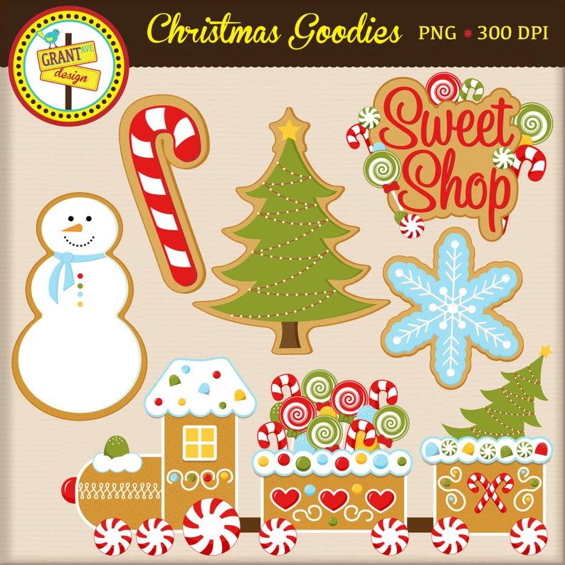 Christmas Cookies Clip Art.