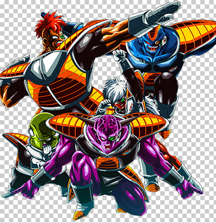 64 ginyu Force PNG cliparts for free download.