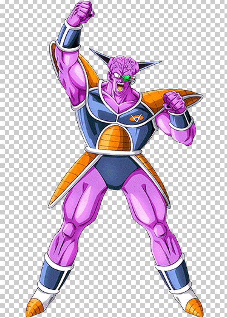 Captain Ginyu Frieza Dragon Ball Guldo Ginyu Force PNG.
