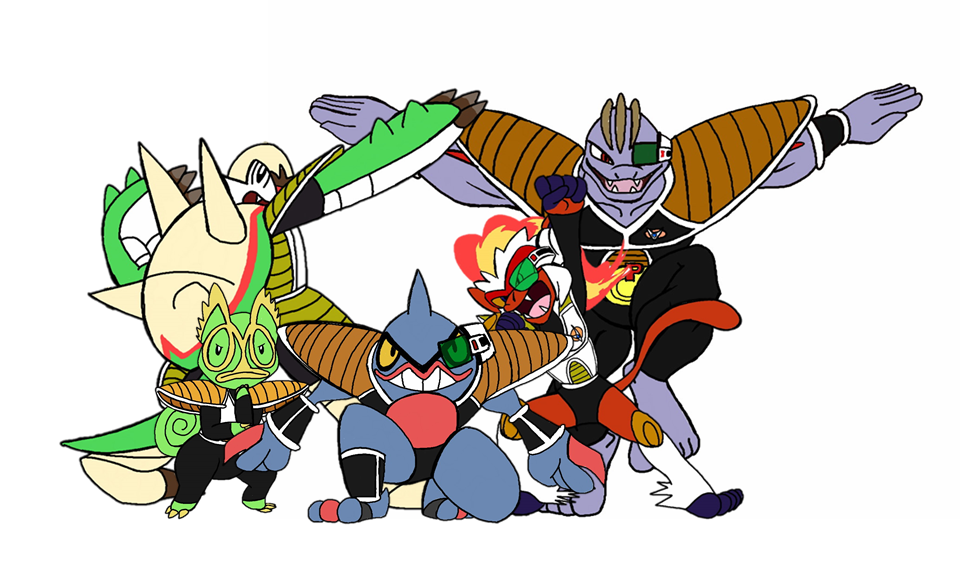 Pokemon Ginyu Force by Naivintage.