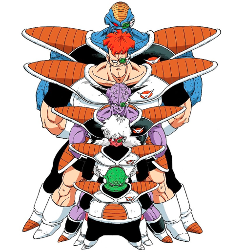 The Ginyu Force.