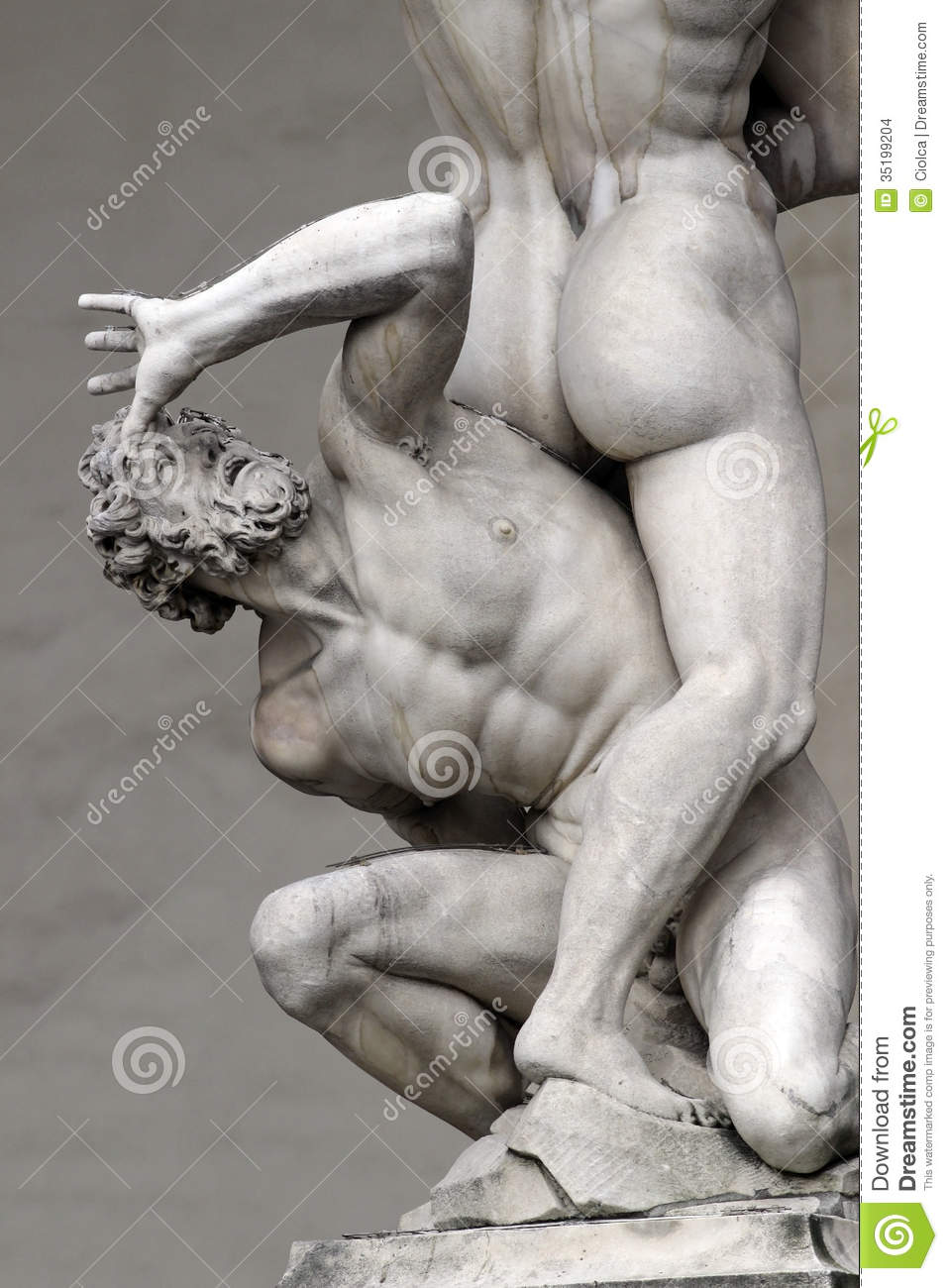 The Rape Of The Sabine Women Stock Images.