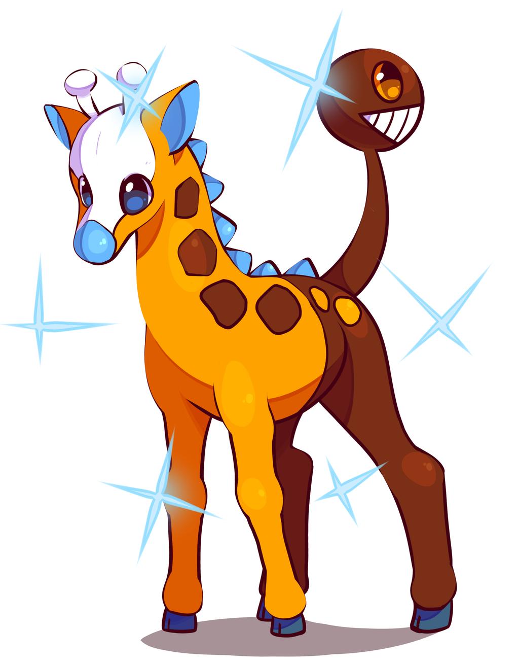 Shiny Girafarig by Takurapi on DeviantArt.