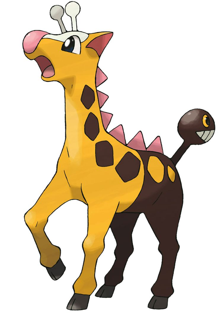 15 Best images about Girafarig on Pinterest.