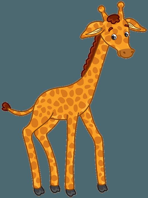 Giraffe clipart. Free download..