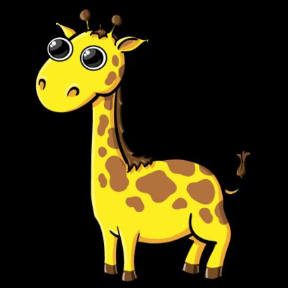 Clip Art Of Giraffe Clipart.
