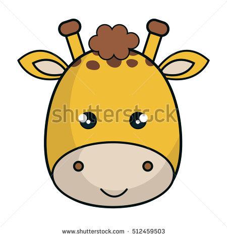 Giraffe Face Stock Images, Royalty.