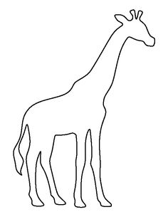 Free Outline Giraffe Cliparts, Download Free Clip Art, Free.