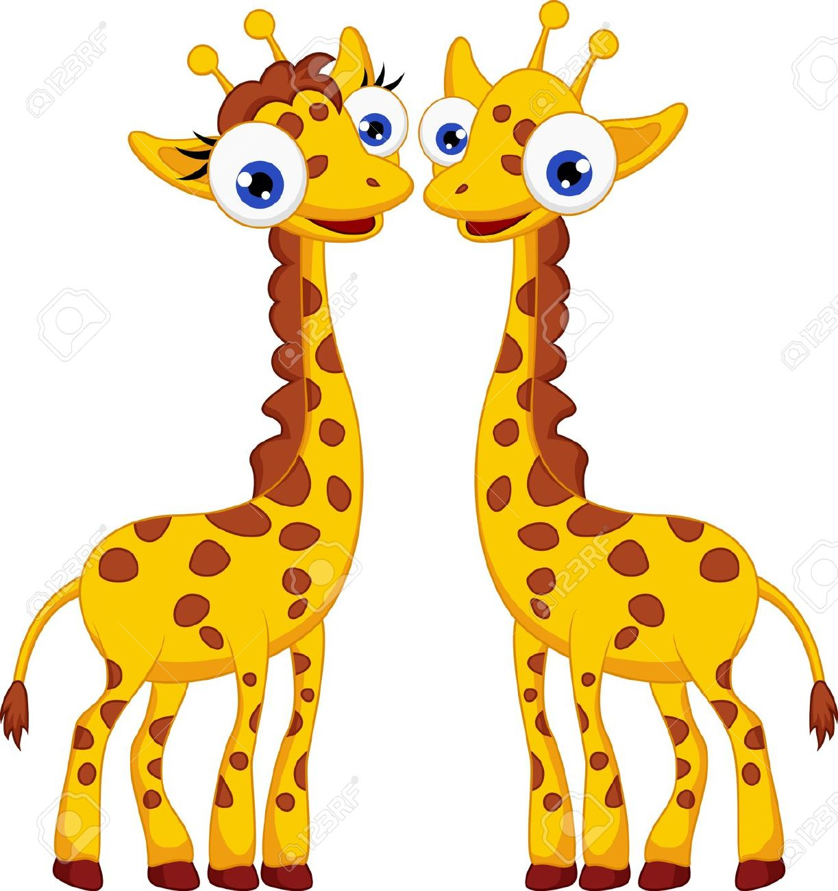 Giraffe Stock Vector Illustration And Royalty Free Giraffe Clipart.