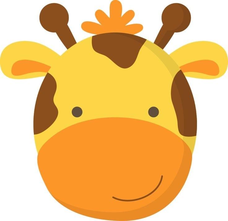 Giraffe Head Clipart Cute Giraffe Face Clipart Clipartxtras Free.