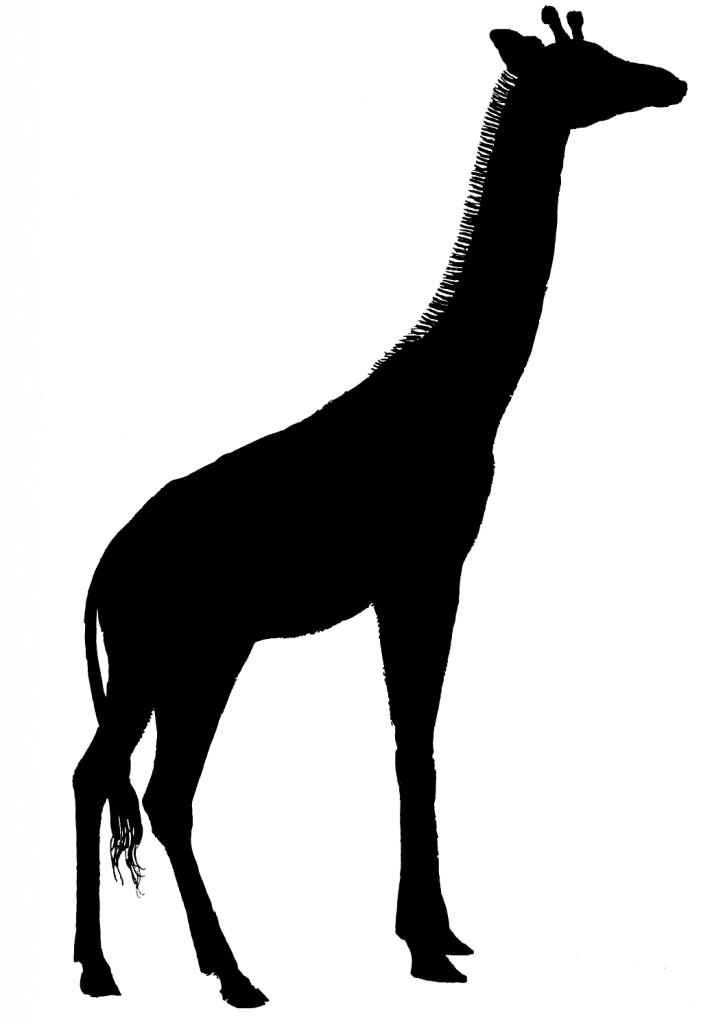 Giraffe Silhouette Clip Art & Giraffe Silhouette Clip Art Clip Art.