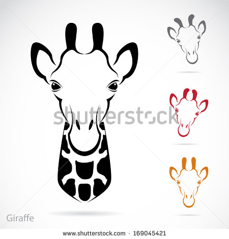 Giraffe Face Stock Images, Royalty.