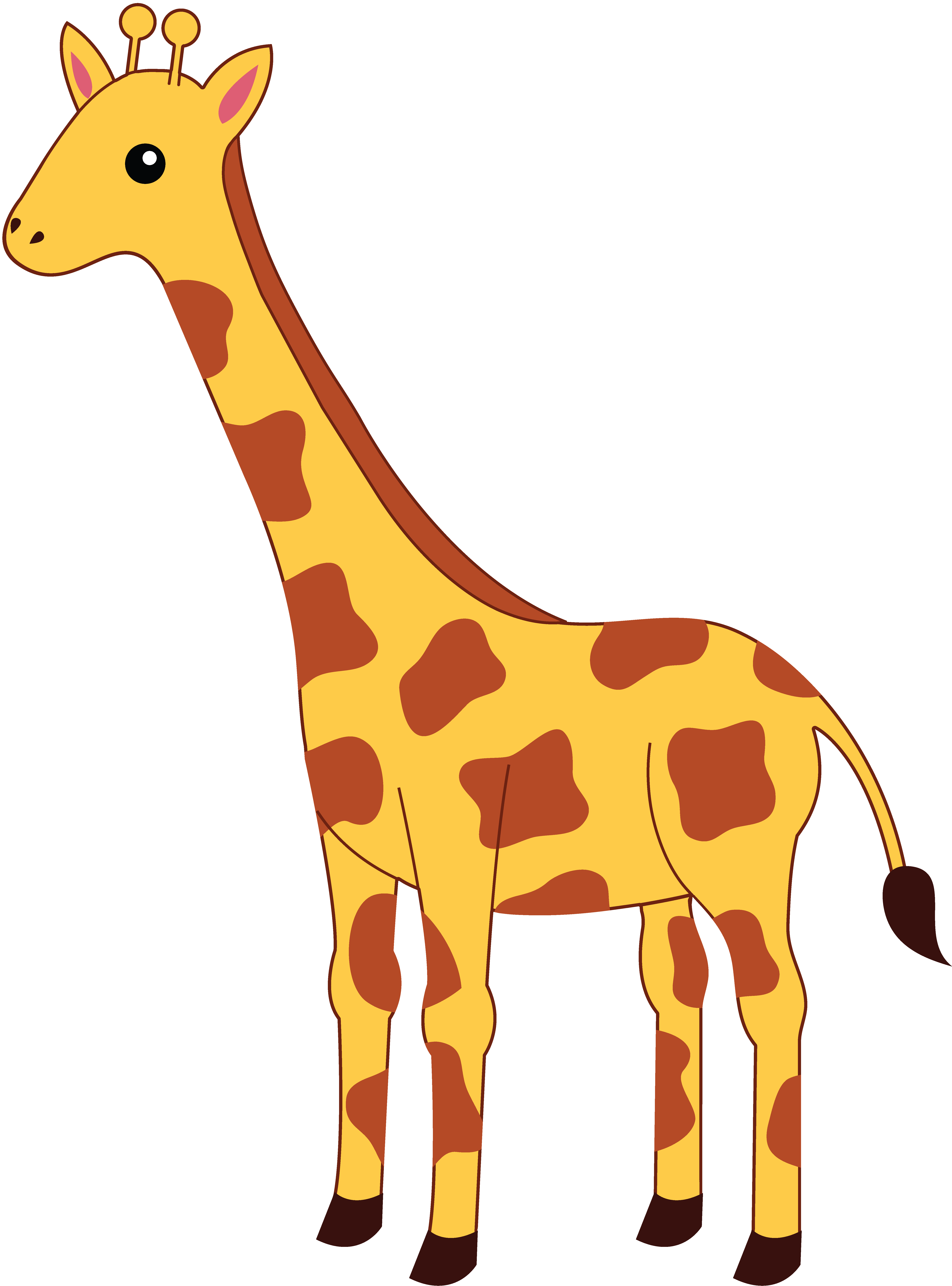 Spotted Yellow Giraffe.