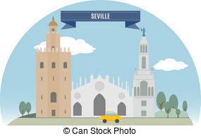 Seville Vector Clipart Illustrations. 193 Seville clip art vector.