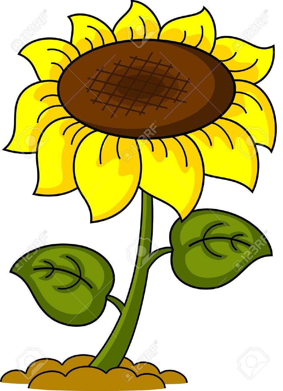 pin sunflower cartoon on pinterest free sunflower clip art black free sunflower clipart border