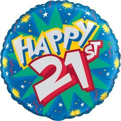 21st.
