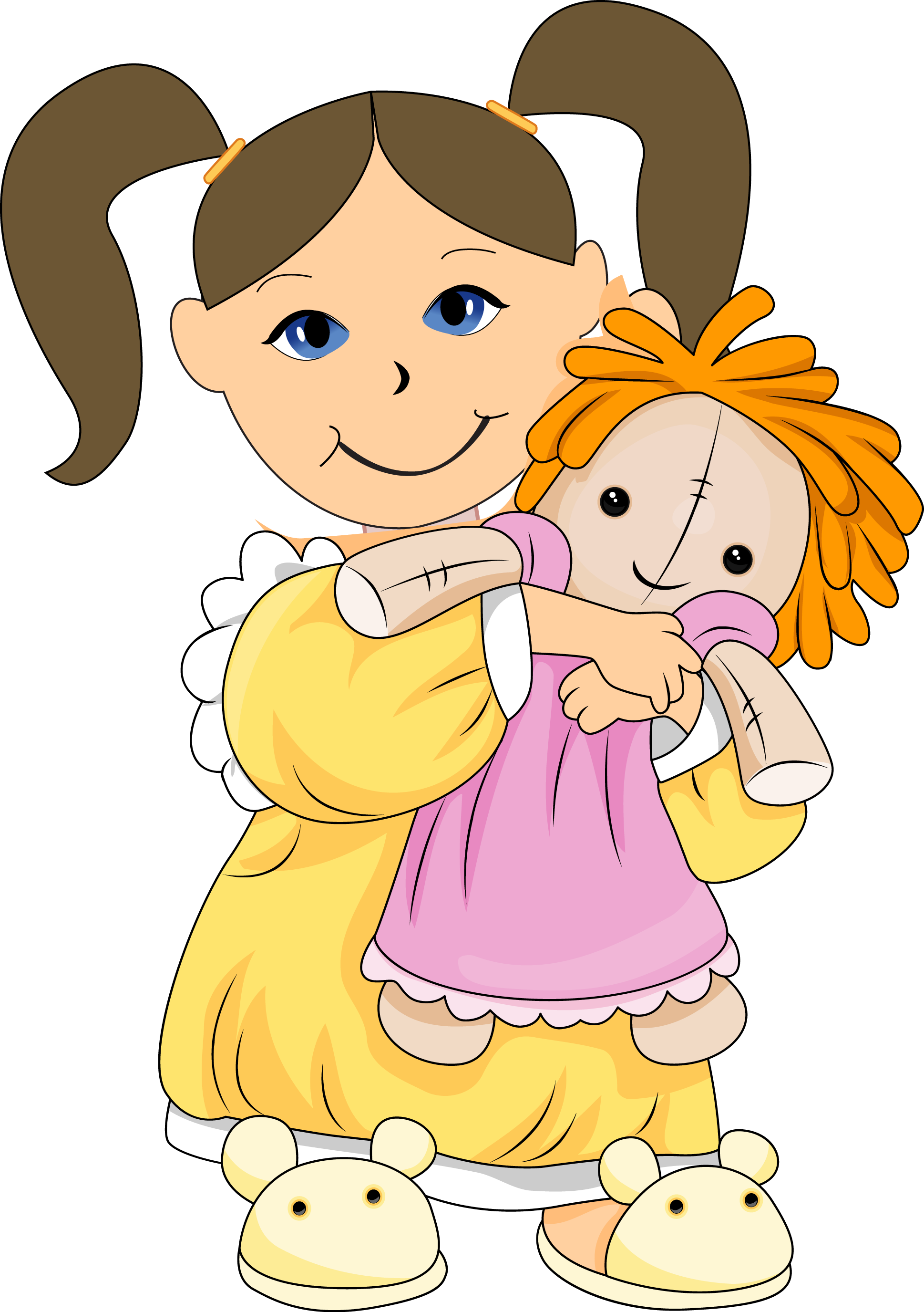 Playing With Dolls Clipart (55+).