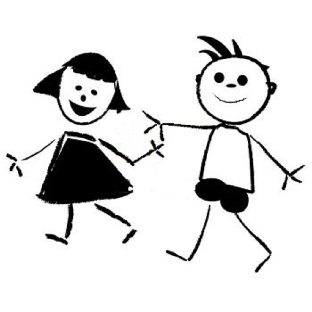 Showing post & media for Boy and girl friends cartoon.