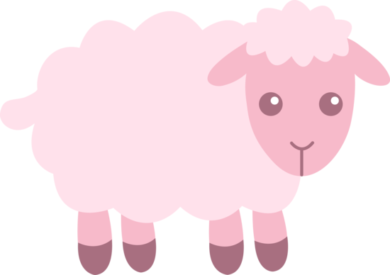 Little sheep clipart.