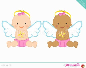 Angel girl clipart.