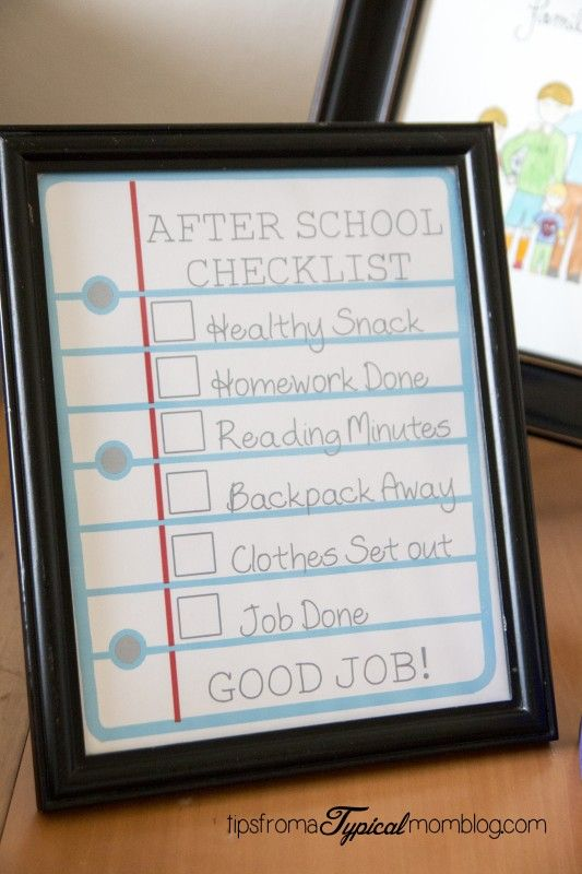 25+ best ideas about School Checklist on Pinterest.