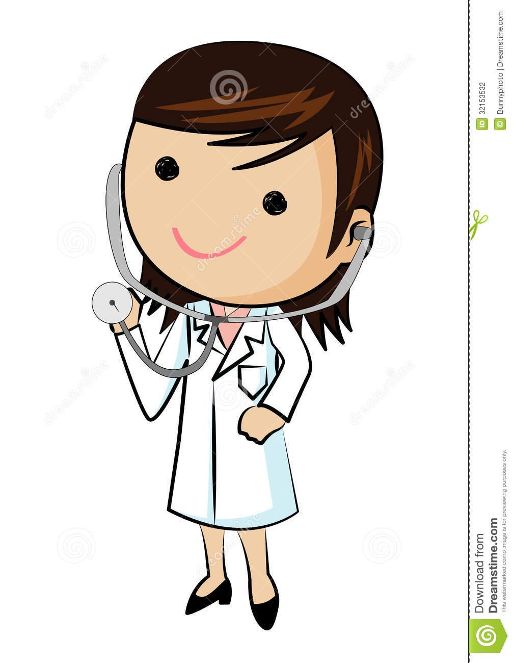 Girl Doctor Clipart.