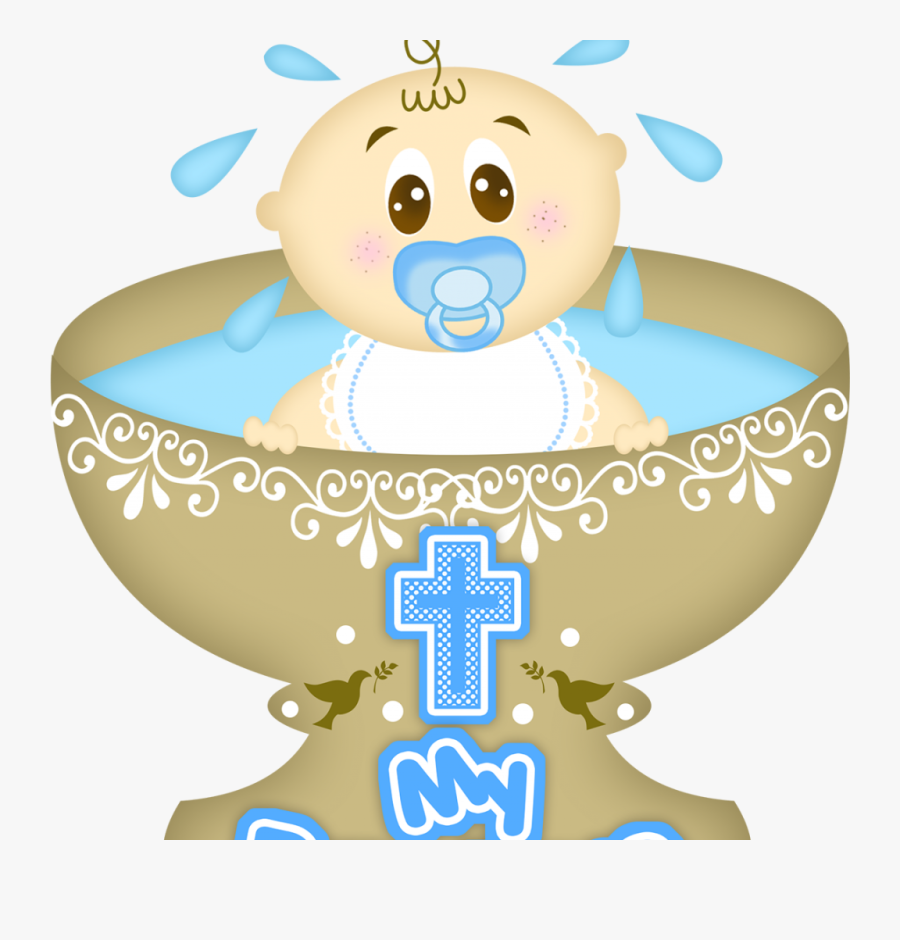 Baby Girl Christening Clipart, Hd Png Download.