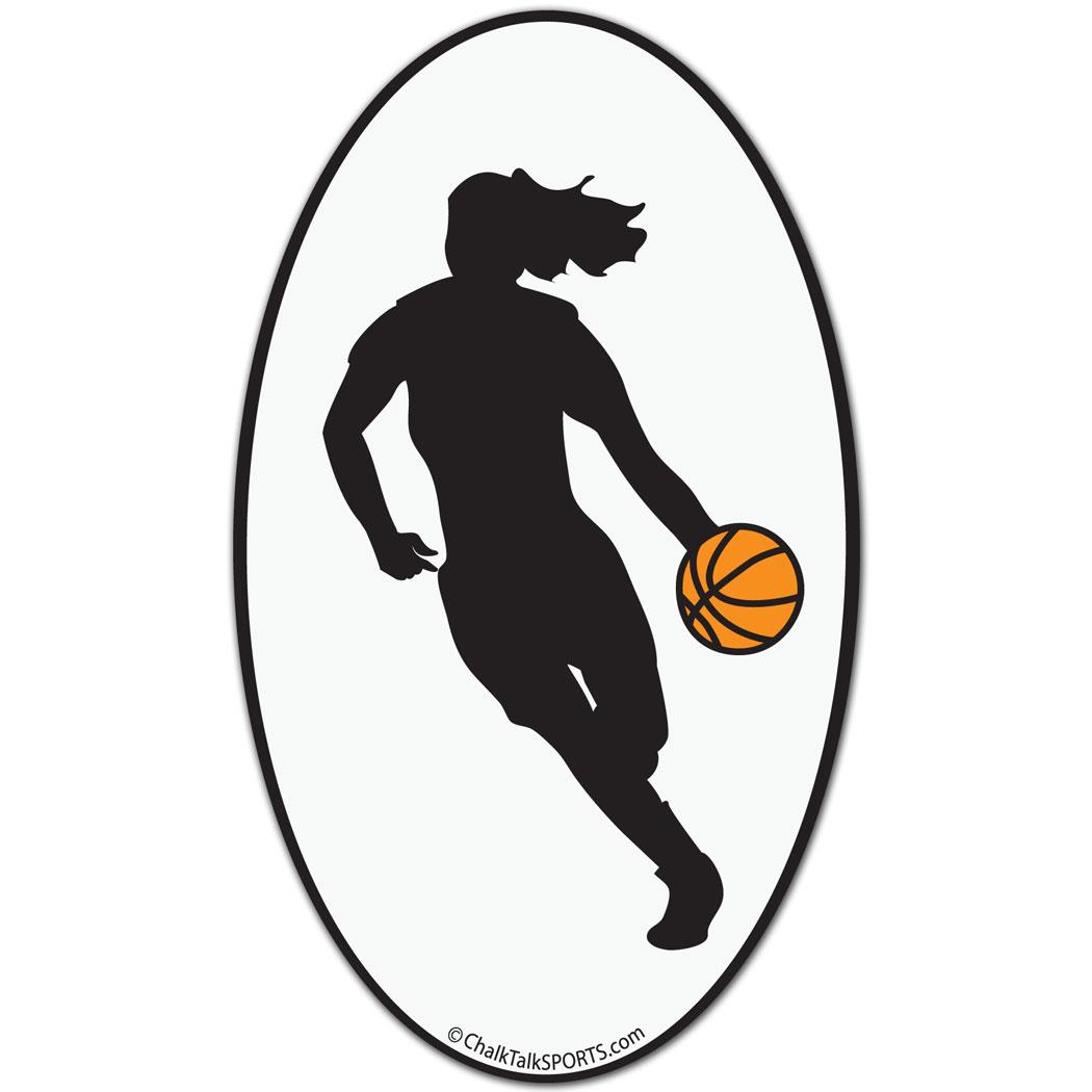Basketball Car Magnet.
