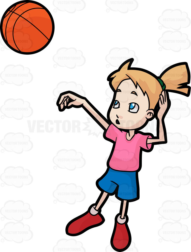 Girl basketball player clipart 7 » Clipart Station.