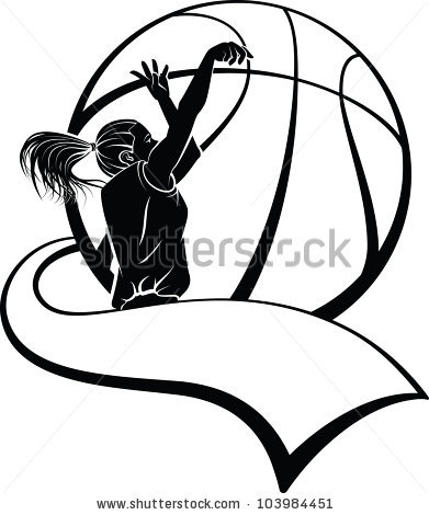 Girls Basketball Stock Images, Royalty.
