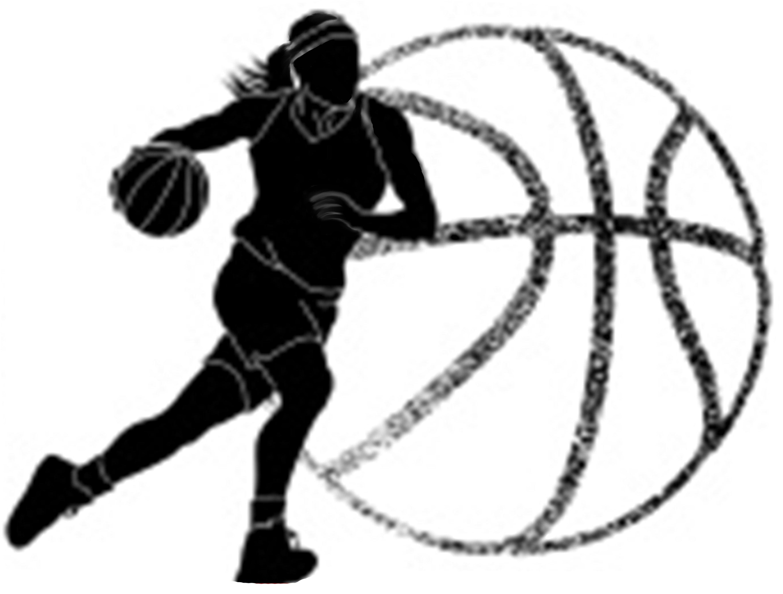 female basketball clipart #6