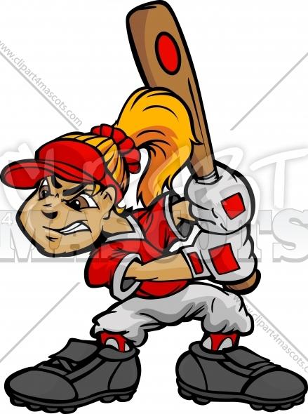 Softball Batter Clipart#2140784.