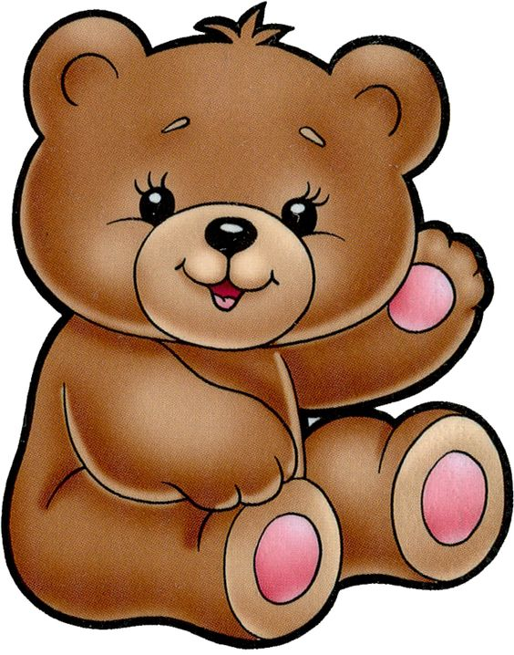 Cute Girl Bear Clipart.