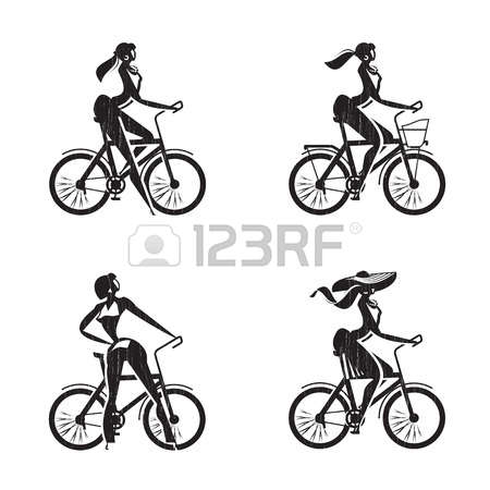 1,694 Biker Girl Stock Vector Illustration And Royalty Free Biker.