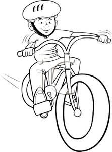 Bicycle Rodeo Clip Art.