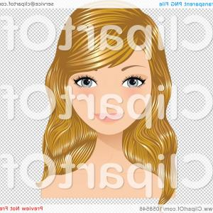 Free Clipart Woman With Blonde Hair And Sunglasses Picture.
