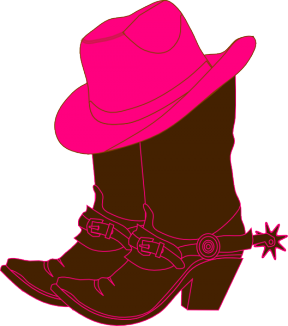 Silhouette Cameo Boot Prints Clipart.
