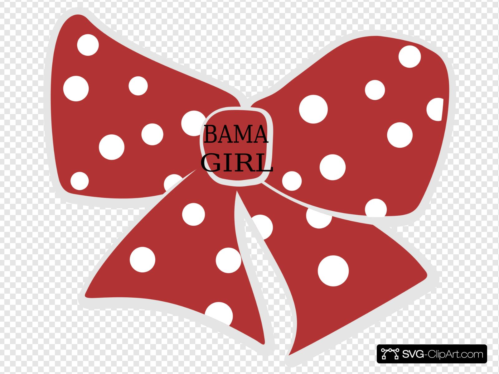 Girl Hair Bow Clip art, Icon and SVG.