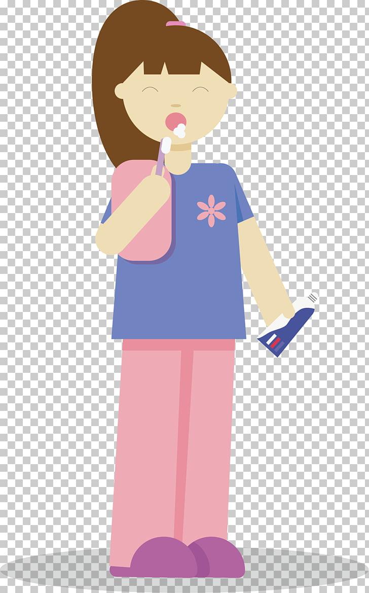 Laborer Adobe Illustrator Woman Illustration, The girl.