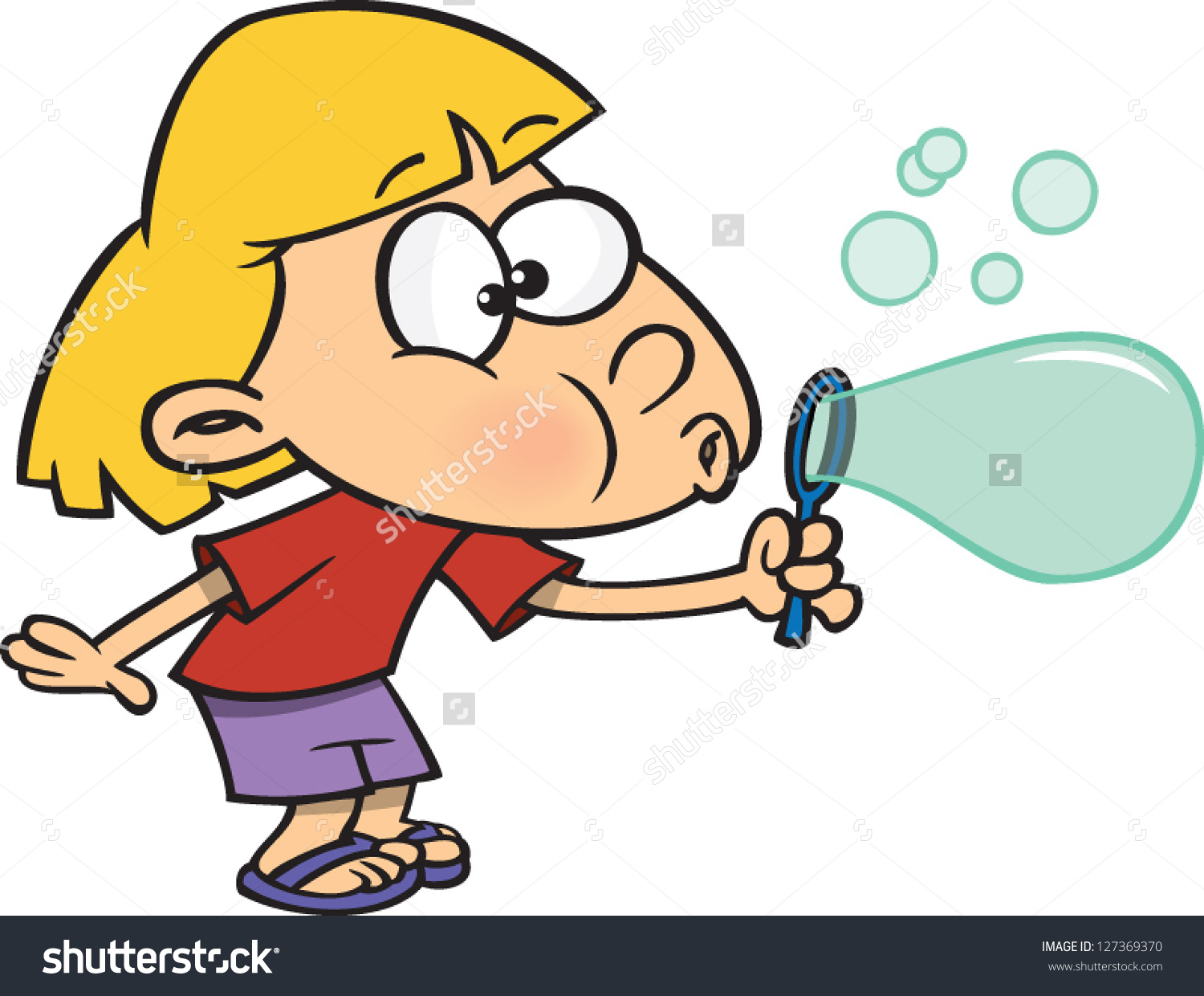 Showing post & media for Cartoon boy blowing bubble clip art.