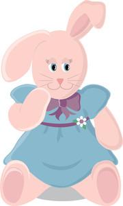 Free Rabbit Clipart Image 0515.