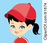 Girl Cap Clipart.